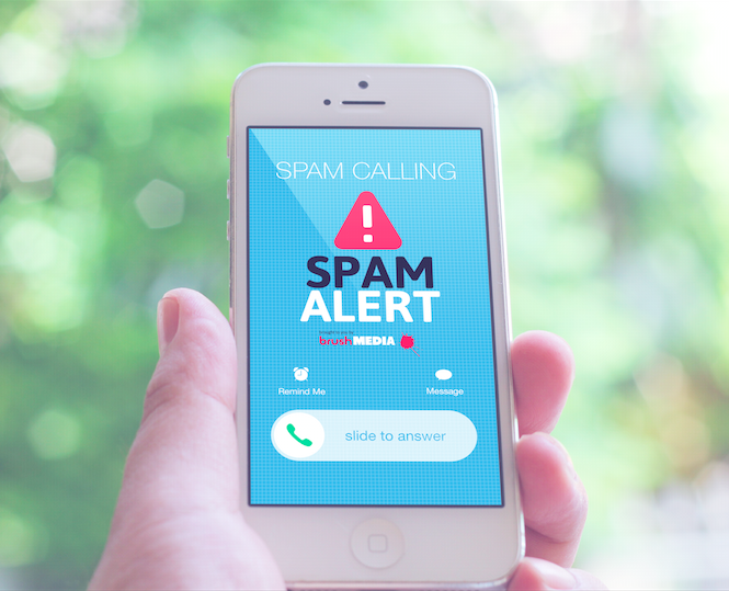SPAM Alert Incoming Call