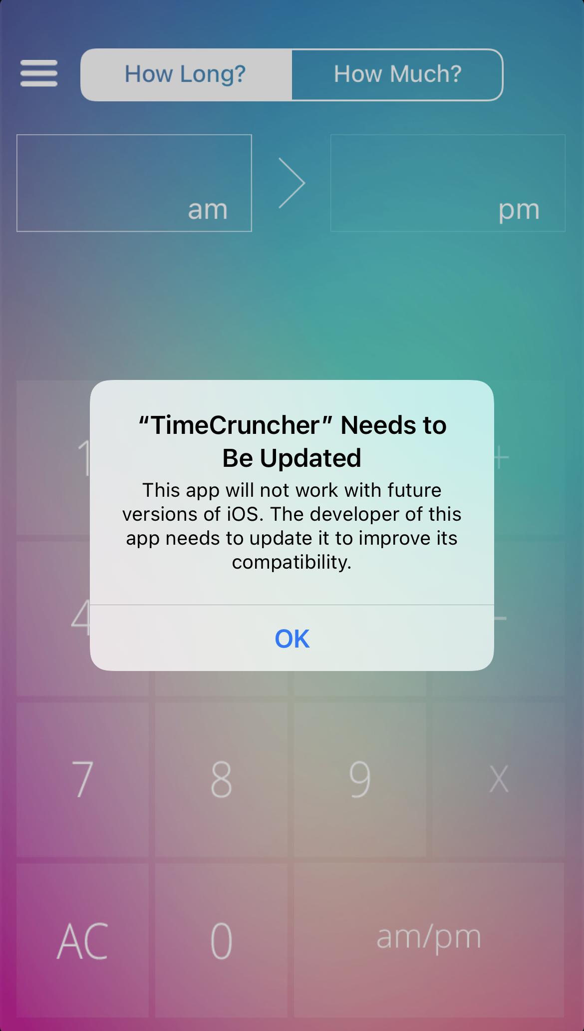 TimeCruncher Alert